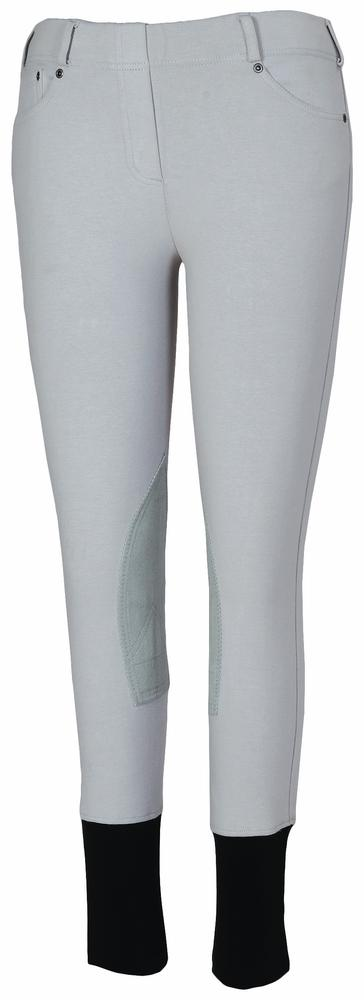Children's Newbury Pull-On Knee Patch Breeches - TuffRider - Breeches.com
