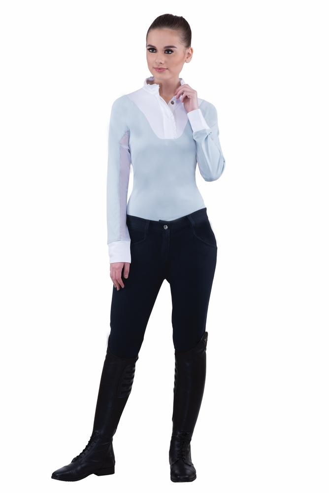 Ladies Active Knee Patch Breeches - TuffRider - Breeches.com