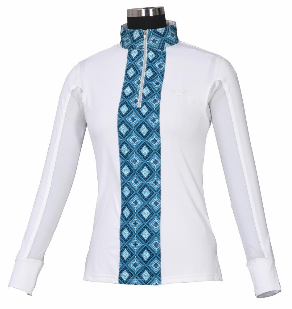 TuffRider Ladies Artemis EquiCool Riding Sport Shirt_1