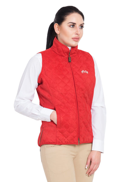 Equine Couture Ladies Spinnaker Micro Suede Vest_7