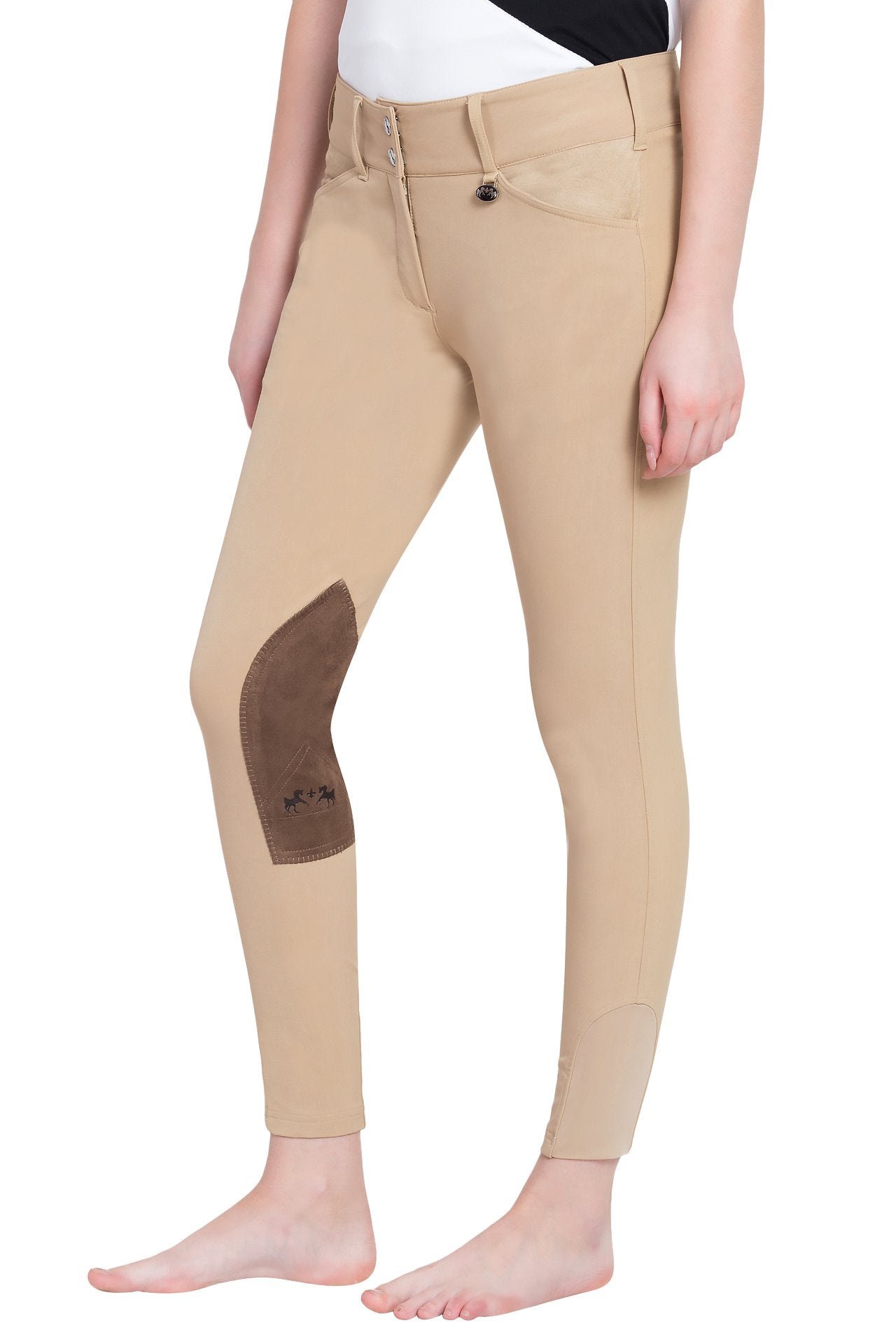 Equine Couture Ladies Coolmax Champion Knee Patch Breeches_1