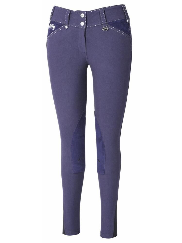 Equine Couture Ladies Blakely Knee Patch Breeches_1
