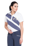 Equine Couture Ladies X-Press Short Sleeve Polo Sport Shirt_16