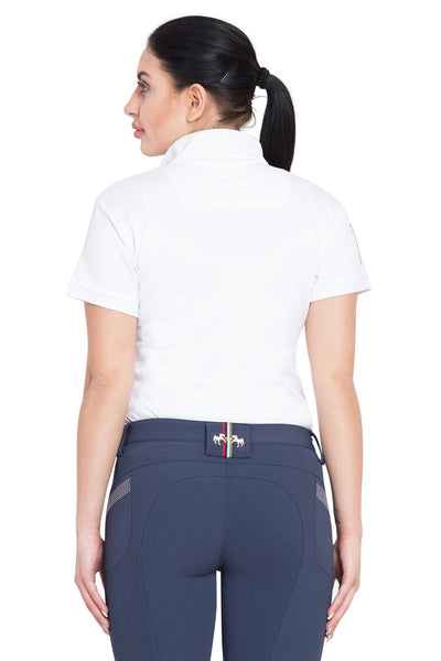Equine Couture Ladies X-Press Short Sleeve Polo Sport Shirt_17