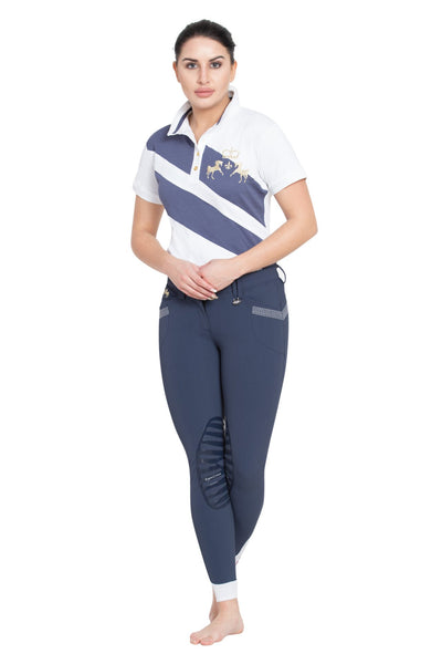 Equine Couture Ladies X-Press Short Sleeve Polo Sport Shirt_18