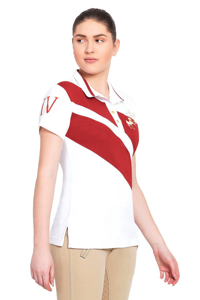 Equine Couture Ladies X-Press Short Sleeve Polo Sport Shirt_3