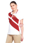 Equine Couture Ladies X-Press Short Sleeve Polo Sport Shirt_2