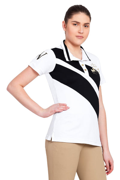 Equine Couture Ladies X-Press Short Sleeve Polo Sport Shirt_9