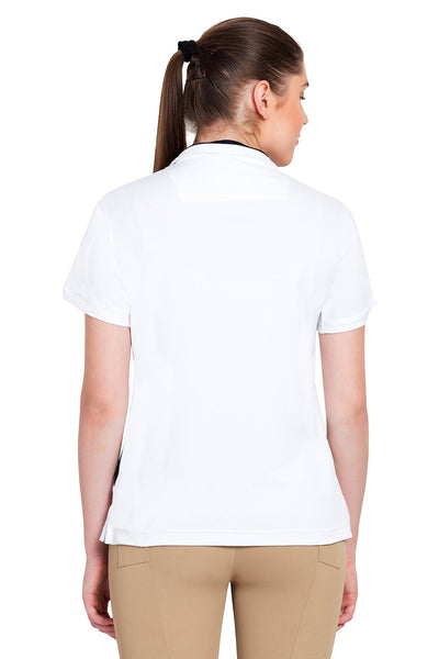 Equine Couture Ladies X-Press Short Sleeve Polo Sport Shirt_10
