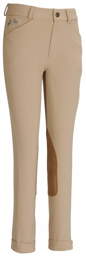 Children's Coolmax Champion Front Zip Jodhpurs - Equine Couture - Breeches.com