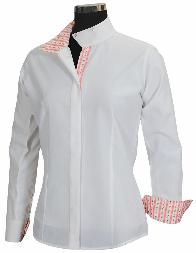 Equine Couture Ladies Isabel Coolmax Long Sleeve Show Shirt_1