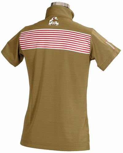 Equine Couture Ladies Patriot Short Sleeve Polo_6