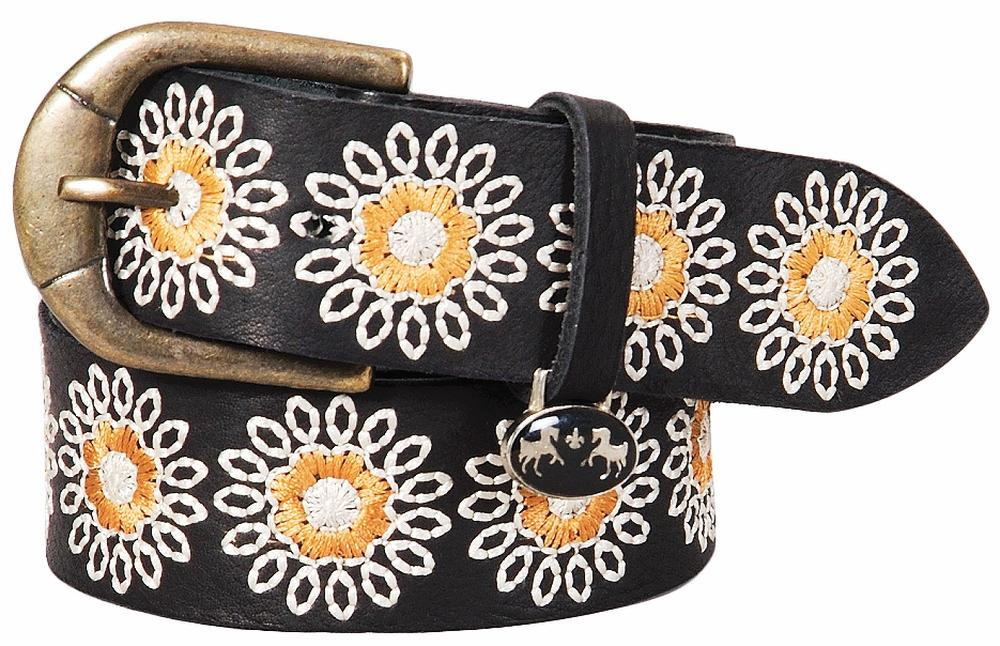 Equine Couture Marie Leather Belt_11