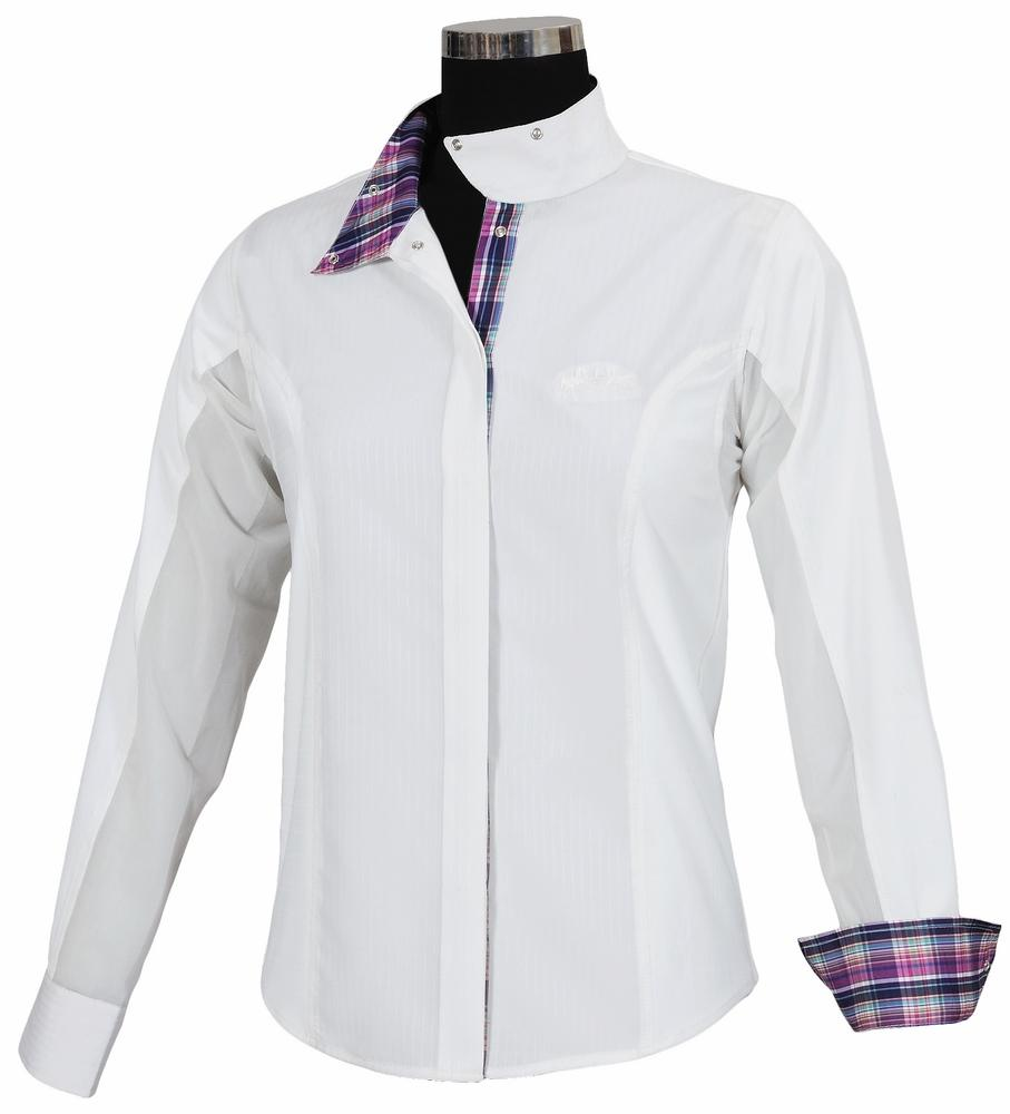 Ladies Amber Long Sleeve Show Shirt - Equine Couture - Breeches.com