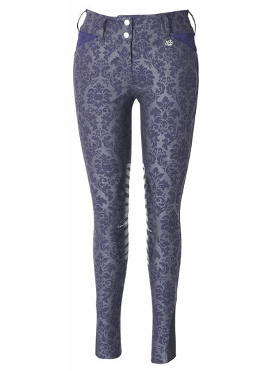 Equine Couture Ladies Damask Breeches_1