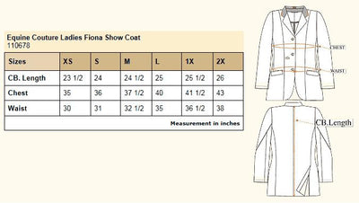 Equine Couture Ladies Fiona Show Coat_13