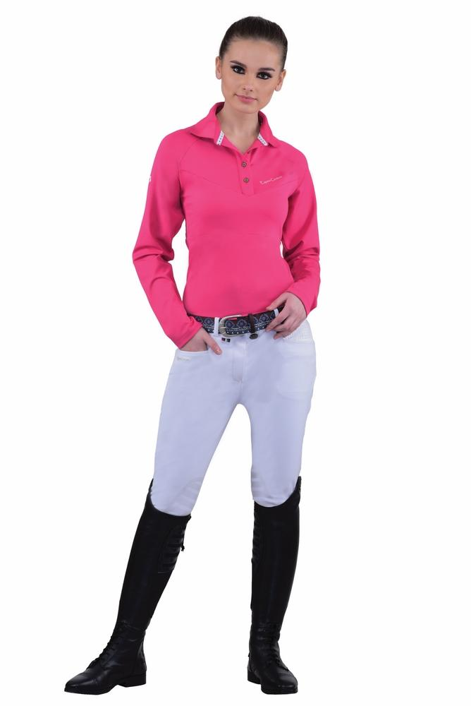 Equine Couture Ladies Oslo Silicone Knee Patch Breeches_1
