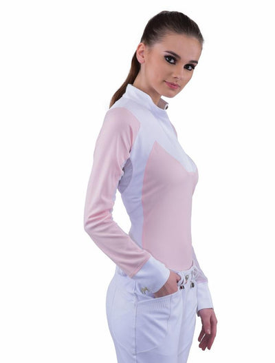 Equine Couture Ladies Maggie Long Sleeve Show Shirt_9