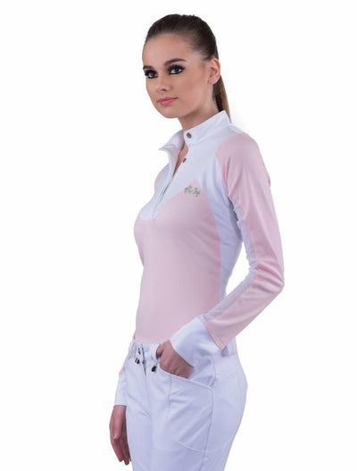 Equine Couture Ladies Maggie Long Sleeve Show Shirt_10