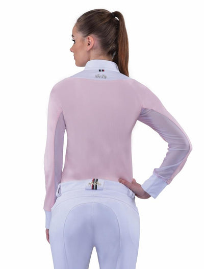 Equine Couture Ladies Maggie Long Sleeve Show Shirt_11