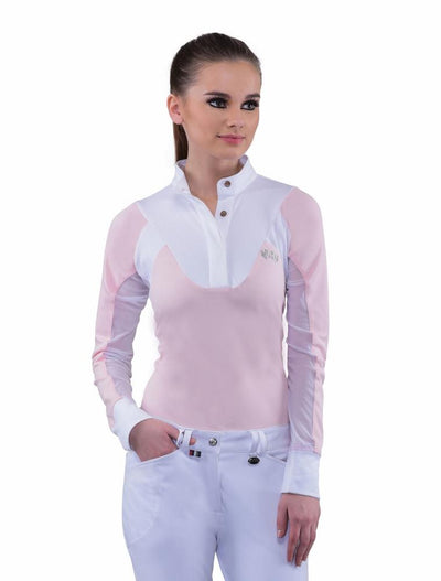 Equine Couture Ladies Maggie Long Sleeve Show Shirt_8