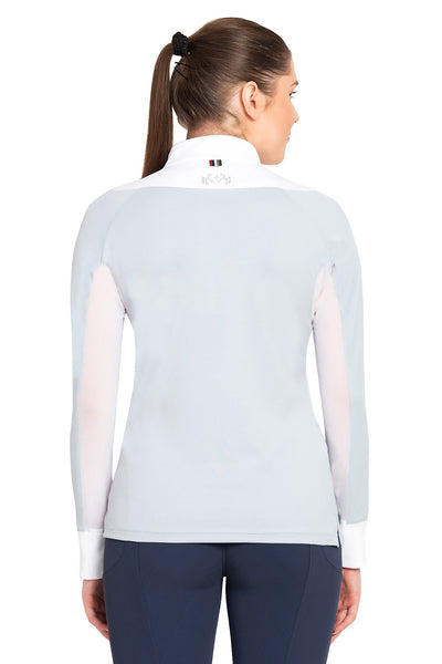 Equine Couture Ladies Maggie Long Sleeve Show Shirt_4