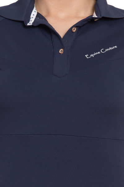 Equine Couture Ladies Performance Short Sleeve Polo Sport Shirt_6