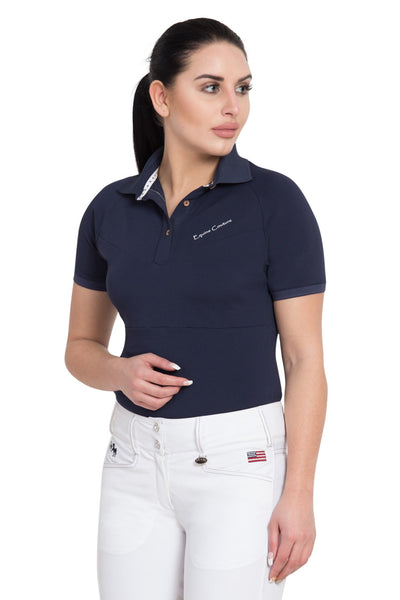 Equine Couture Ladies Performance Short Sleeve Polo Sport Shirt_3