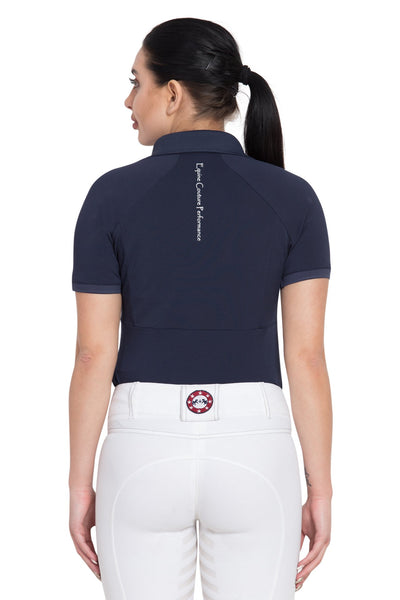 Equine Couture Ladies Performance Short Sleeve Polo Sport Shirt_4