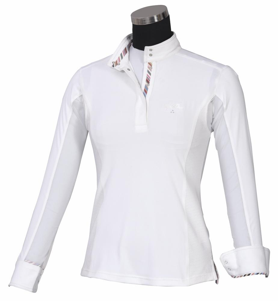 Equine Couture Ladies Cara Long Sleeve Show Shirt_1