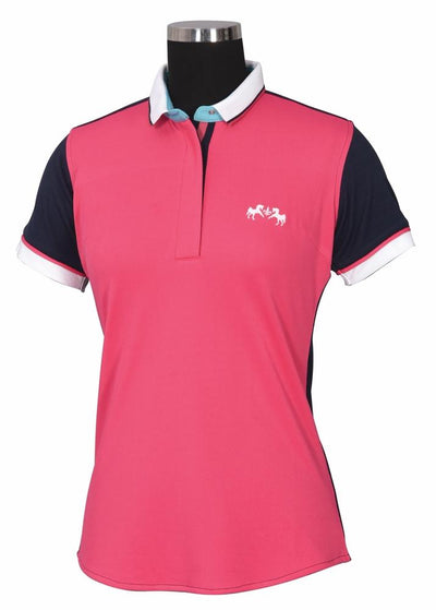 Equine Couture Ladies Pearl Short Sleeve Polo Sport Shirt_7