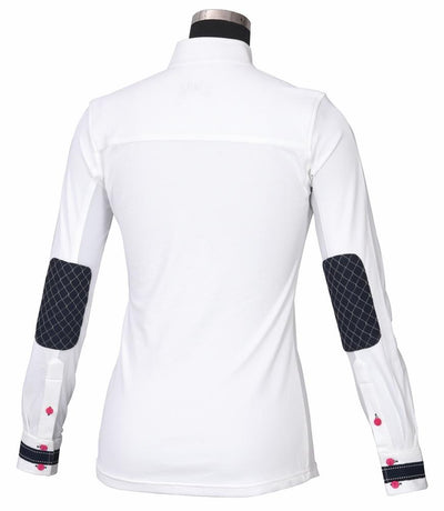 Equine Couture Ladies Penelope Long Sleeve Show Shirt_2
