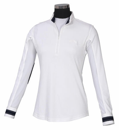 Equine Couture Ladies Penelope Long Sleeve Show Shirt_1