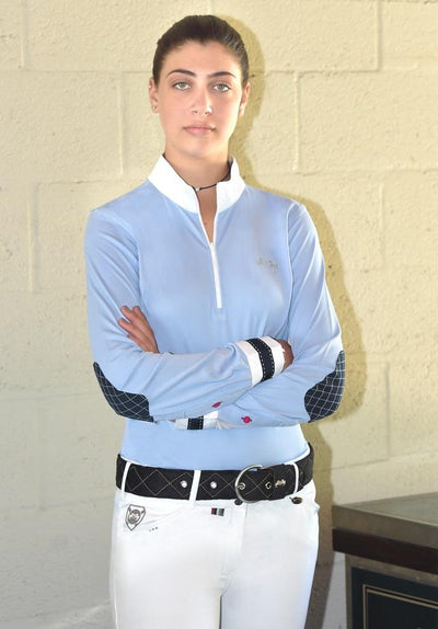 Equine Couture Ladies Penelope Long Sleeve Show Shirt_9