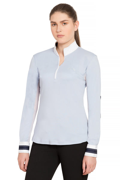 Equine Couture Ladies Penelope Long Sleeve Show Shirt_4