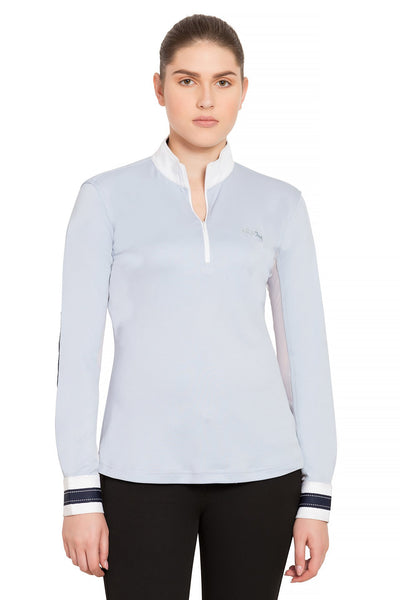 Equine Couture Ladies Penelope Long Sleeve Show Shirt_3
