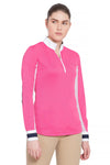 Equine Couture Ladies Penelope Long Sleeve Show Shirt_12