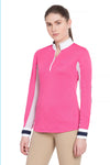 Equine Couture Ladies Penelope Long Sleeve Show Shirt_11