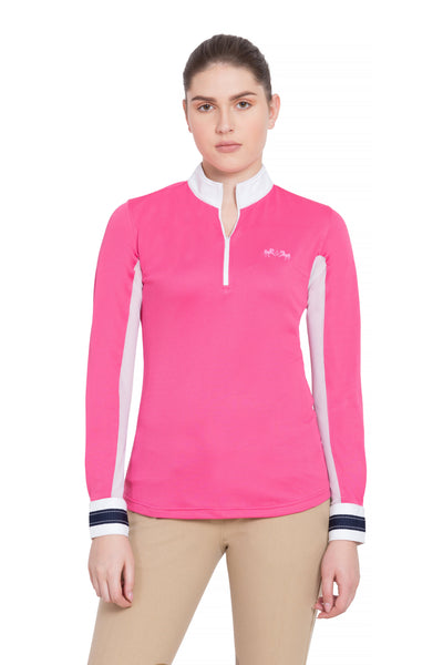 Equine Couture Ladies Penelope Long Sleeve Show Shirt_10