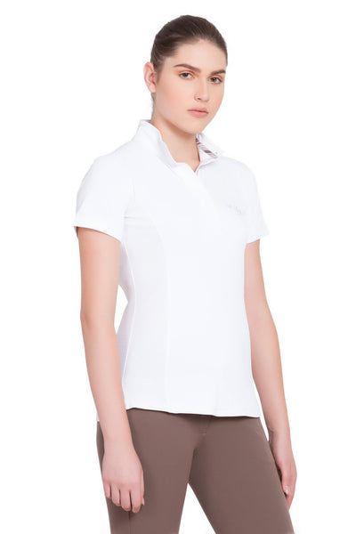 Equine Couture Ladies Cara Short Sleeve Show Shirt_3