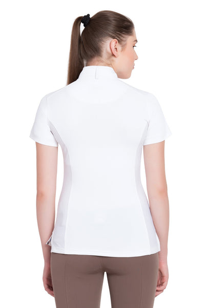 Equine Couture Ladies Cara Short Sleeve Show Shirt_4