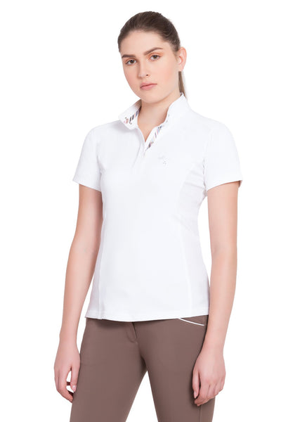 Equine Couture Ladies Cara Short Sleeve Show Shirt_2