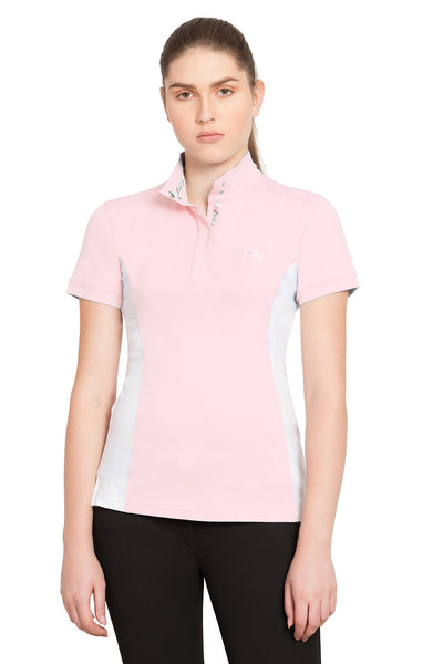 Equine Couture Ladies Cara Short Sleeve Show Shirt_5