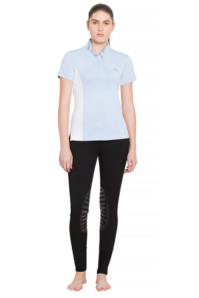 Equine Couture Ladies Cara Short Sleeve Show Shirt_14