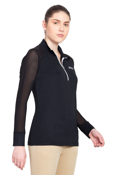 Equine Couture Ladies Erna EquiCool Long Sleeve Sport Shirt_14