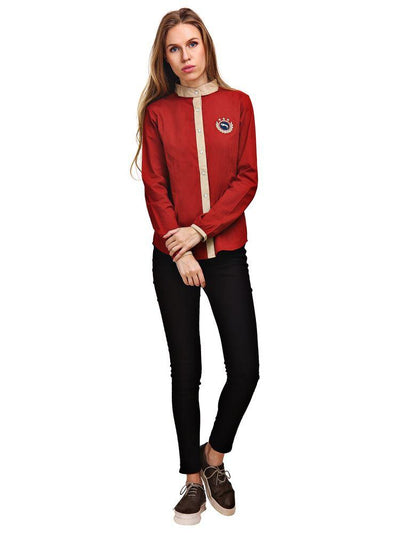 JUMP USA Roma Ladies Long Sleeve Regular Fit T-Shirt_2