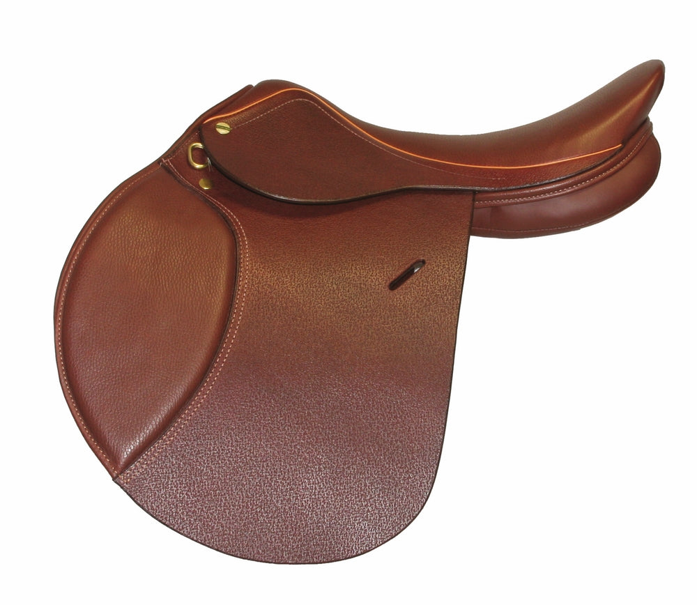 Advantage Close Contact Saddle - Flocked - Henri de Rivel - Breeches.com