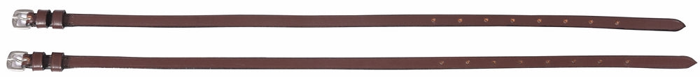 Henri de Rivel Leather Spur Straps with Plain Buckle_2