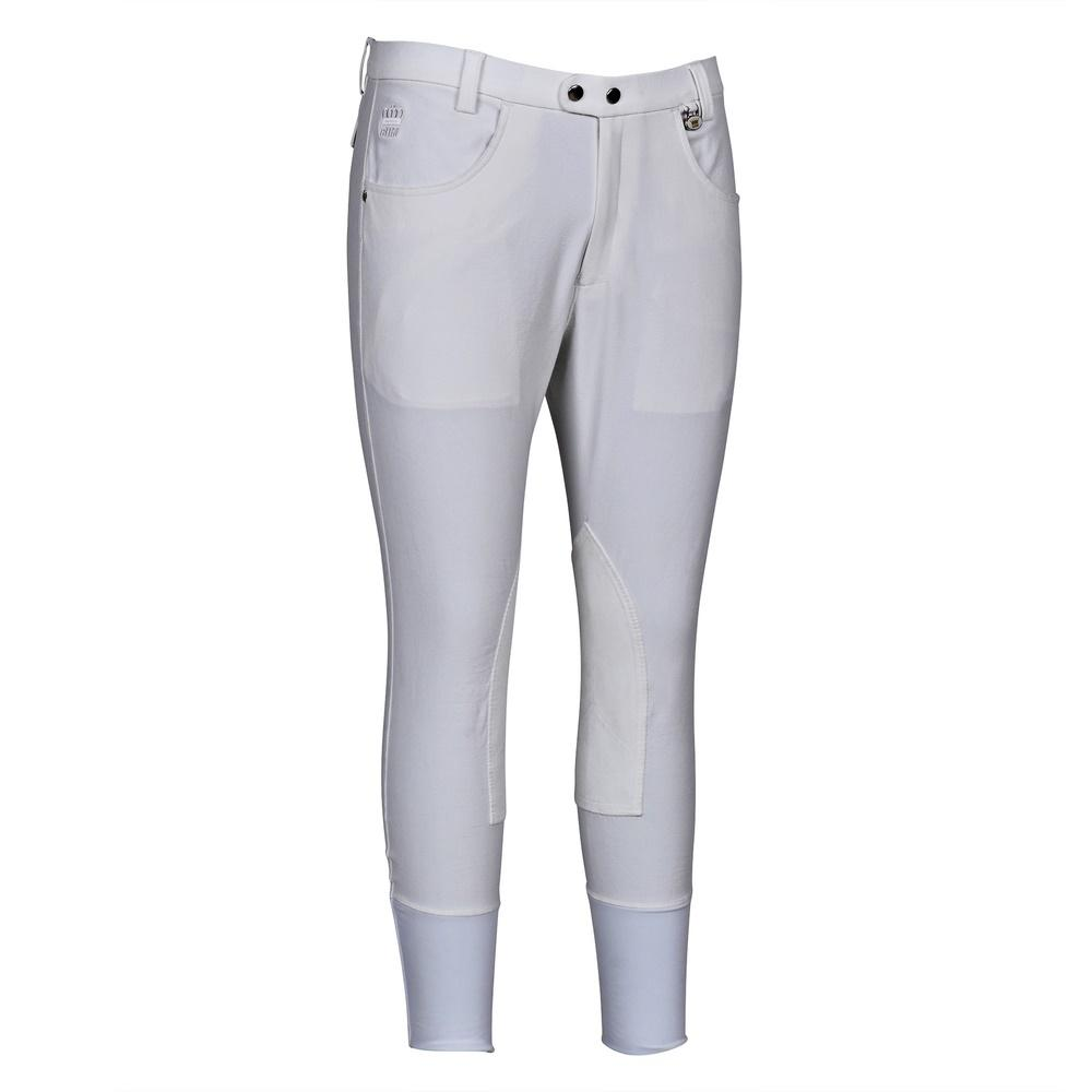 George H Morris Men's Grand Prix Knee Patch Breeches_1