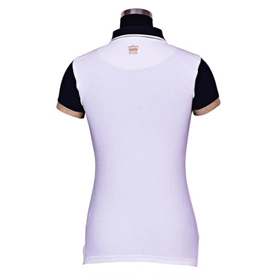 George H Morris Ladies Reserve Short Sleeve Polo Sport Shirt_2